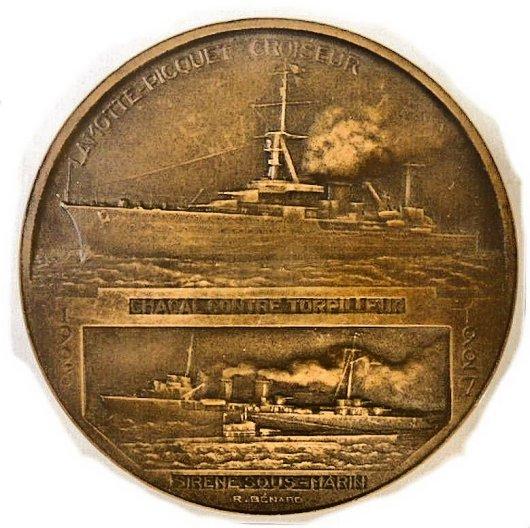 Le contre-torpilleur Chacal Campag11