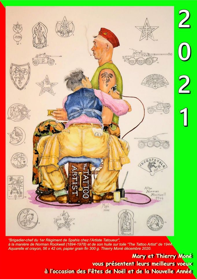 Joyeux Noël 2020 & Bonne Année 2021 Carte_22