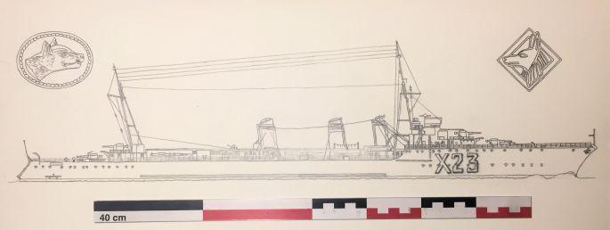 Contre-torpilleur Chacal coulé le 24 mai 1940 au Cap d'Alprech près de Boulogne. - Page 3 Chacal30
