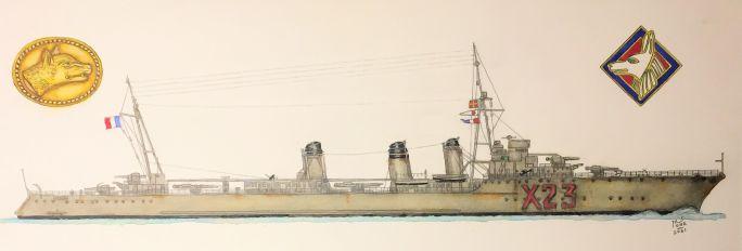 Contre-torpilleur Chacal coulé le 24 mai 1940 au Cap d'Alprech près de Boulogne. - Page 3 Chacal31