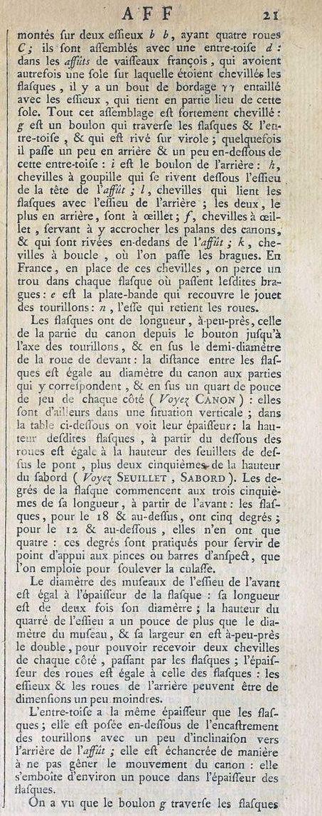 Affût anglais de 9-pounder au 1:10. Système de 1760 d'après J. Robertson en 1775. - Page 3 Encycl12