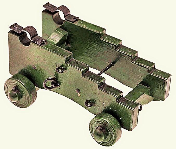 Affût anglais de 9-pounder au 1:10. Système de 1760 d'après J. Robertson en 1775. - Page 2 Greenw10