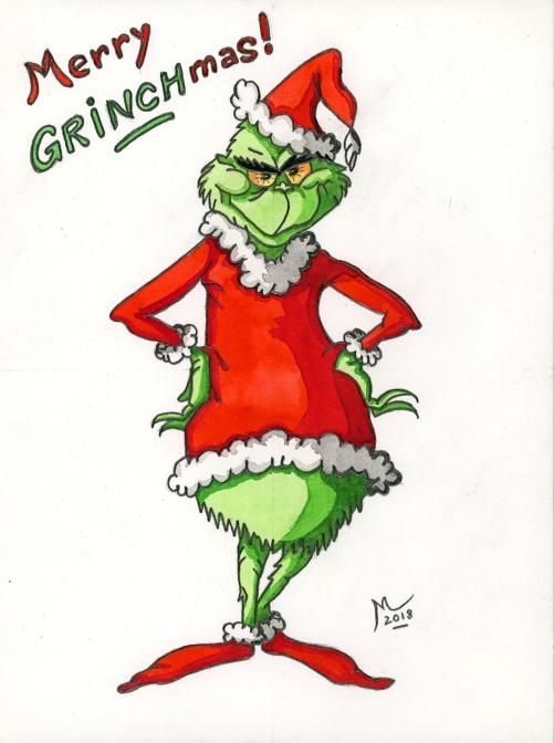 Fêtes de fin d'année ! - Page 2 Grinch11
