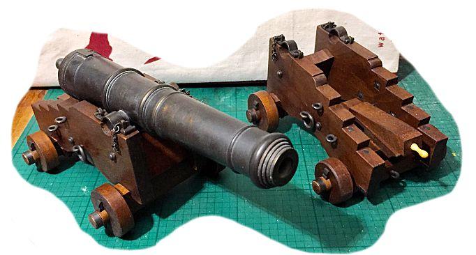 Affût anglais de 9-pounder au 1:10. Système de 1760 d'après J. Robertson en 1775. - Page 14 Img_9311