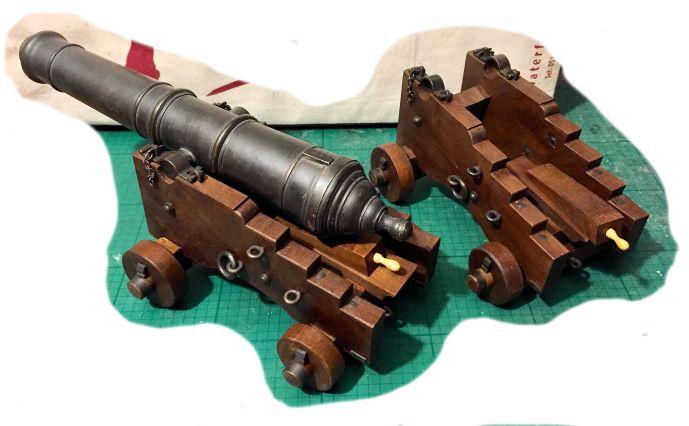 Affût anglais de 9-pounder au 1:10. Système de 1760 d'après J. Robertson en 1775. - Page 14 Img_9312