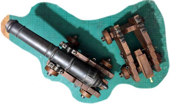Affût anglais de 9-pounder au 1:10. Système de 1760 d'après J. Robertson en 1775. - Page 14 Img_9313