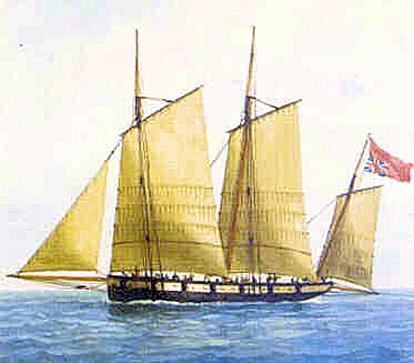 Pavillon arboré par les corsaires de Guernesey vers 1779-82 ? Jersey10