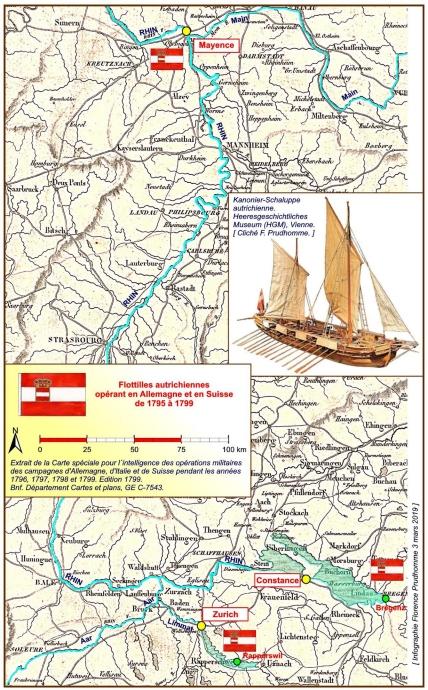 Kanonier-Schaluppe autrichienne sur le Rhin en 1795 ? Kanoni12