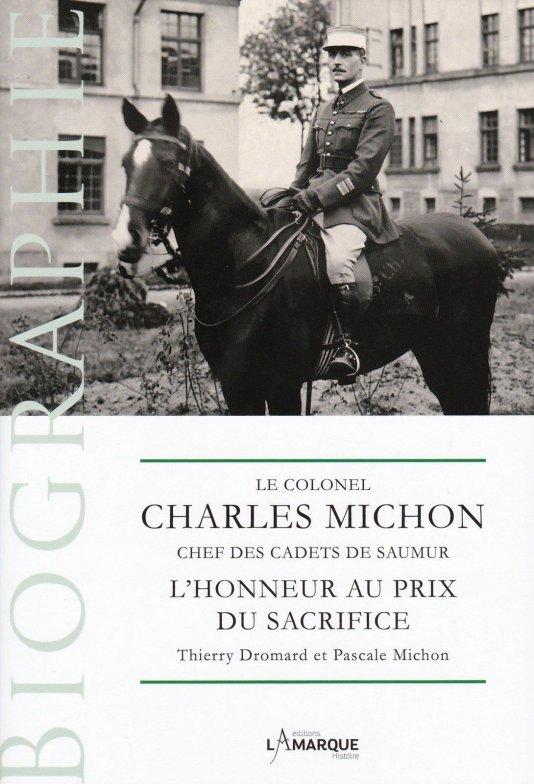 Le Colonel Charles Michon Chef des Cadets de Saumur... 2021. Michon10