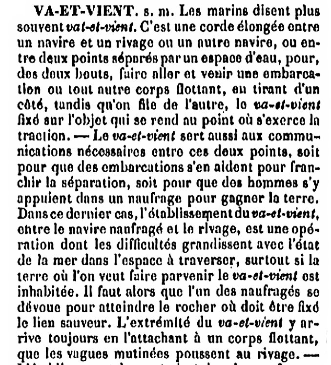 Emploi d'un va-et-vient au XVIIIe siècle : exemple de 1797 à Plozévet. Va-et-11