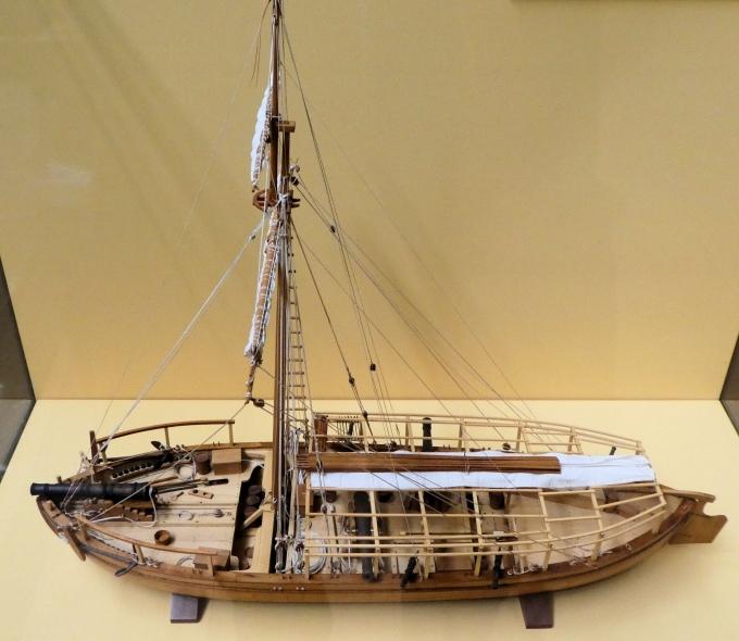« Gunboat » de la Révolution américaine, - Page 2 Washin11