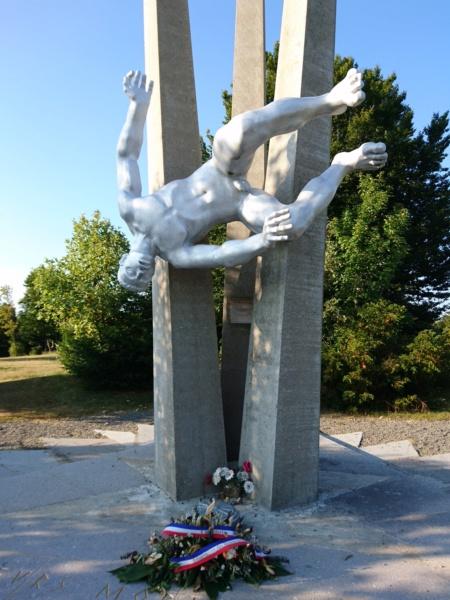 Le monument des démineurs du ballon d'alsace Dsc_0341