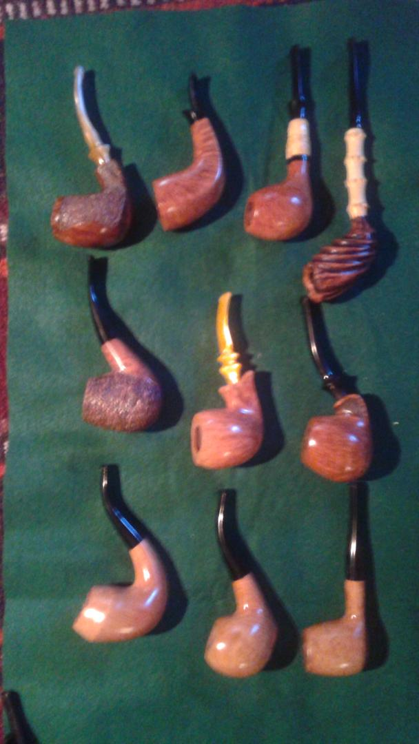 Getting ready for the Kansas City pipe show 20180910