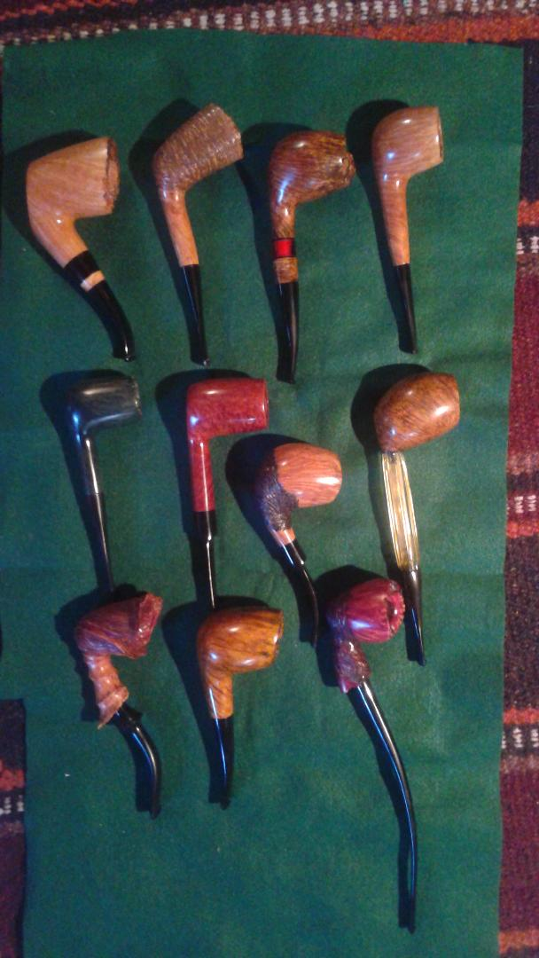 Getting ready for the Kansas City pipe show 20180911