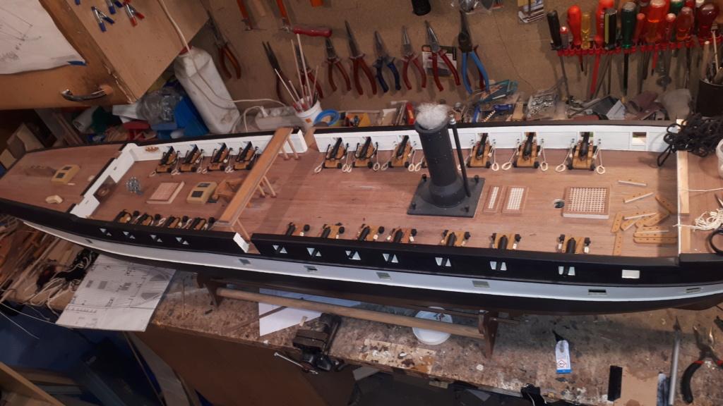 Restaurierung Dänische Fregatte Jylland 1:24 20200713