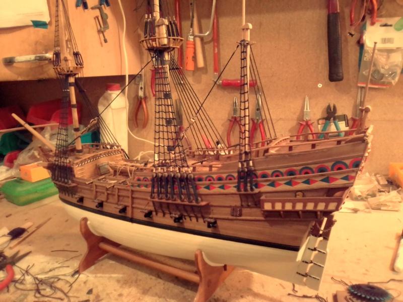 """Brandenburgische Fregatte """"Roter Löwe"""", M 1:50 Img_2070"""