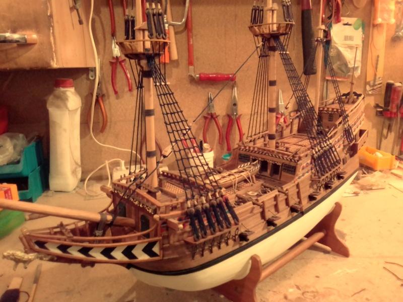 """Brandenburgische Fregatte """"Roter Löwe"""", M 1:50 Img_2073"""