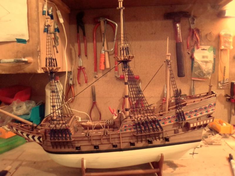 """Brandenburgische Fregatte """"Roter Löwe"""", M 1:50 Img_2074"""
