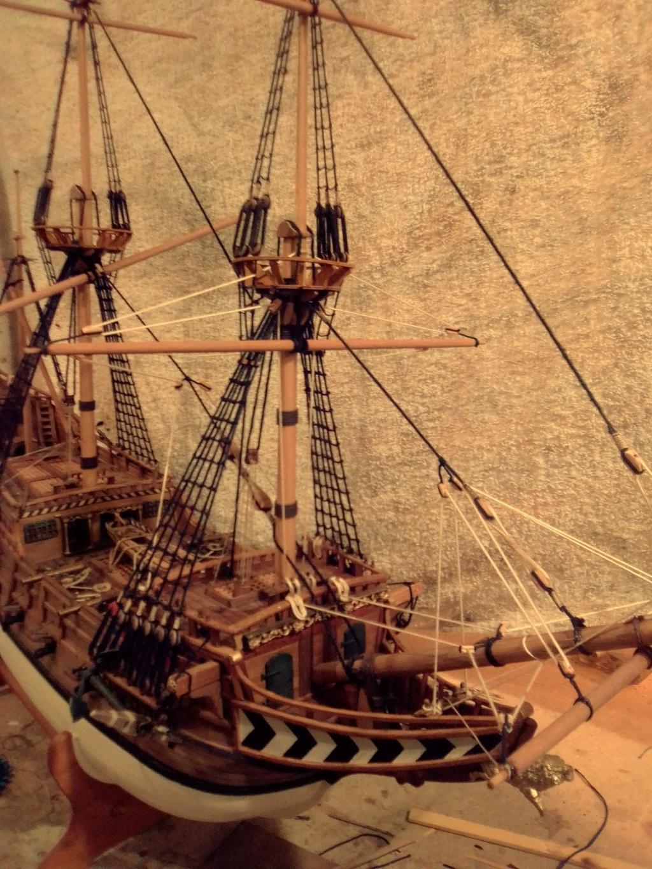 """Brandenburgische Fregatte """"Roter Löwe"""", M 1:50 Img_2076"""
