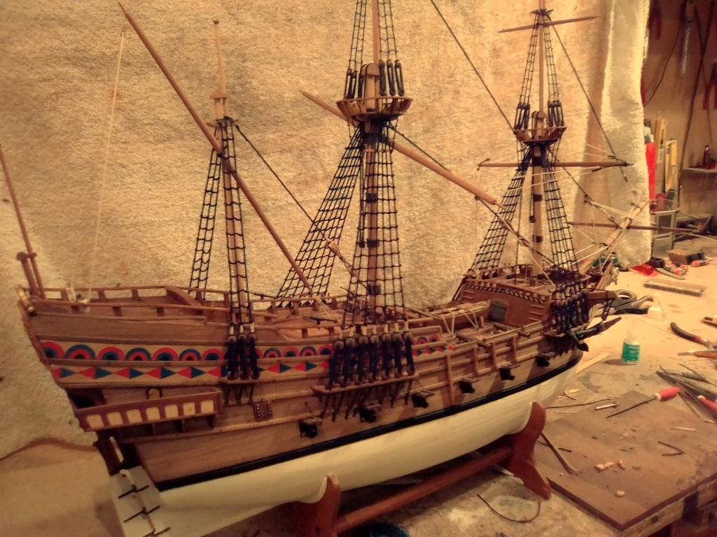 """Brandenburgische Fregatte """"Roter Löwe"""", M 1:50 Img_2078"""