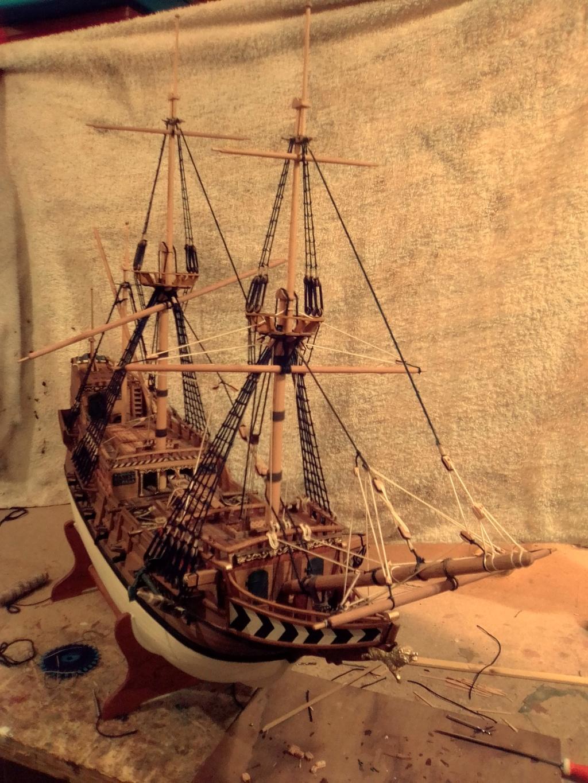 """Brandenburgische Fregatte """"Roter Löwe"""", M 1:50 Img_2079"""