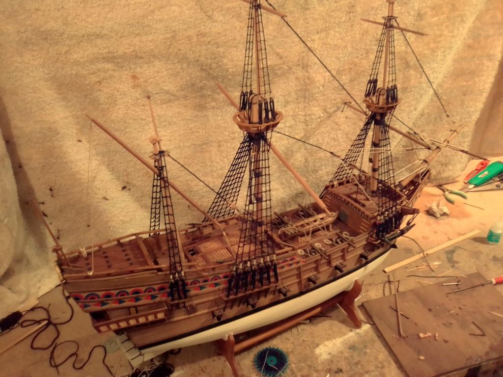 """Brandenburgische Fregatte """"Roter Löwe"""", M 1:50 Img_2082"""