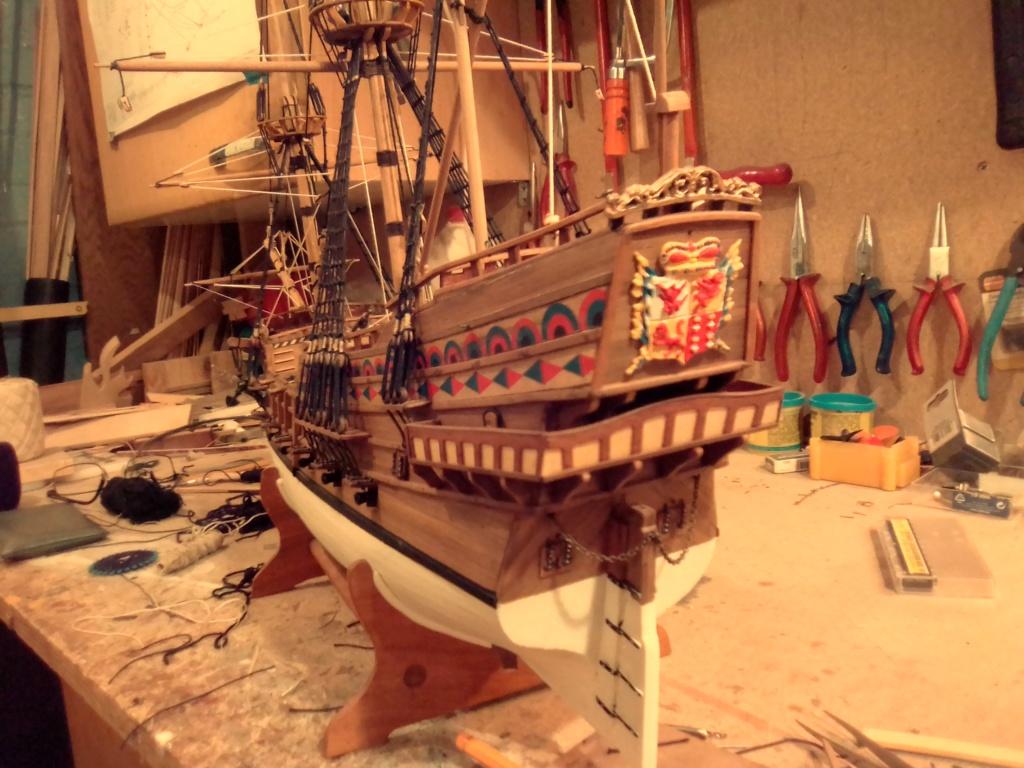 """Brandenburgische Fregatte """"Roter Löwe"""", M 1:50 Img_2083"""
