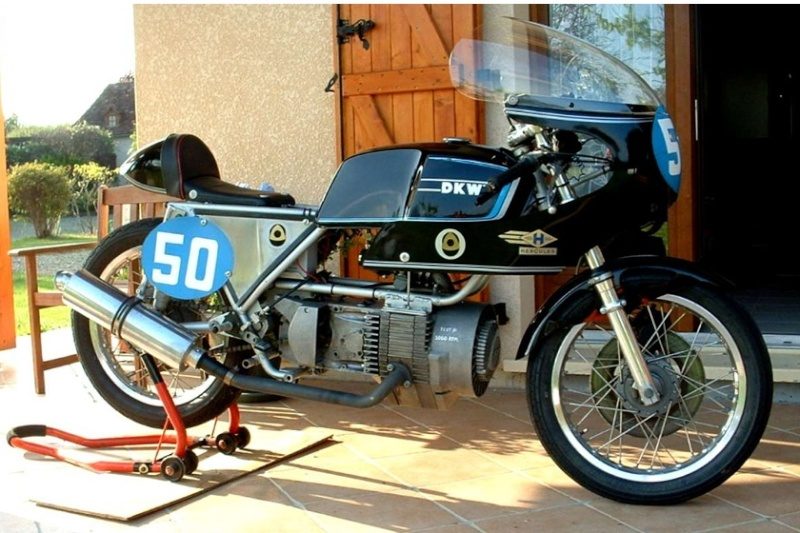 DKW ROTATIVE Cafe racer Pictur17