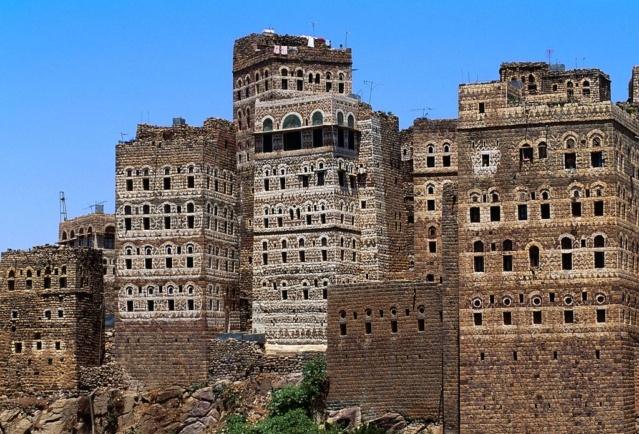 AL HAJJARA, le village  des nuages (Yémen) 0189db10