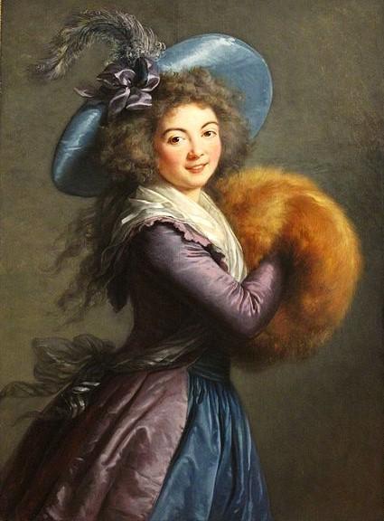 Galerie de portraits : Le manchon au XVIIIe siècle  - Page 2 432px-10