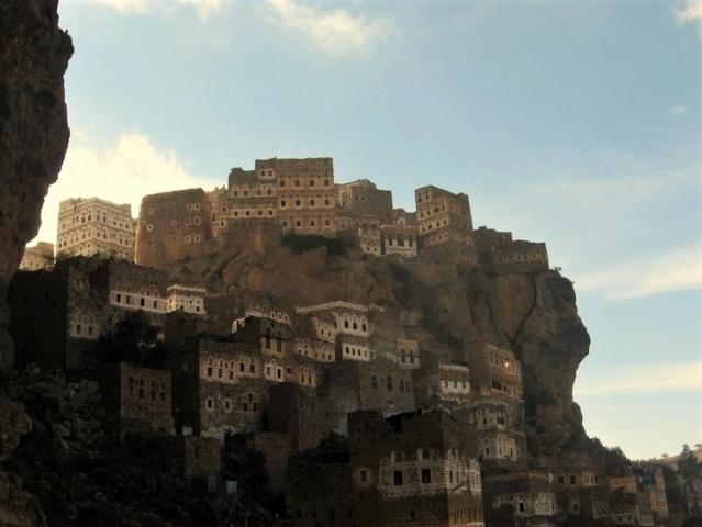 AL HAJJARA, le village  des nuages (Yémen) Al-haj10