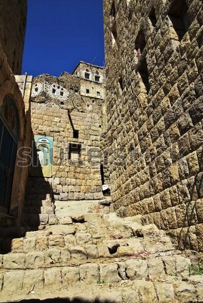 AL HAJJARA, le village  des nuages (Yémen) Arab-v10