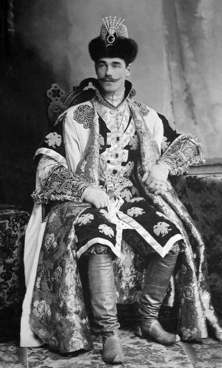 Michel Alexandrovitch de Russie, frère cadet de Nicolas II C1301b10