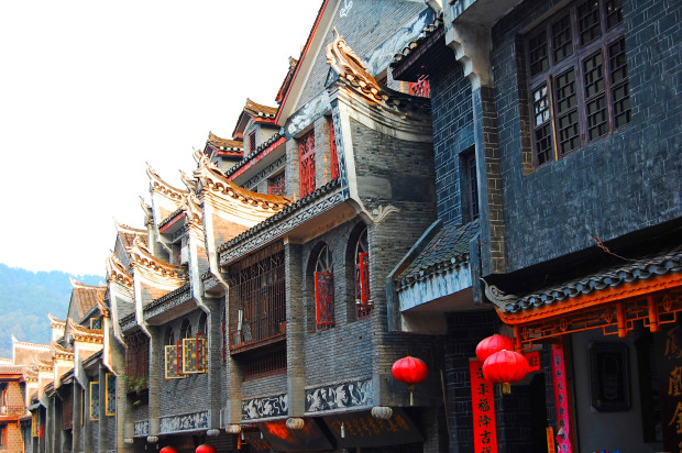 FENGHUANG, LA CITE DU PHENIX Chine_14
