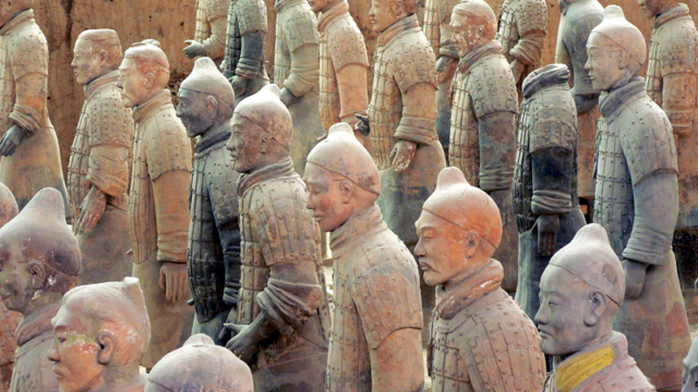 L'ARMEE DE TERRE CUITE Chine_24