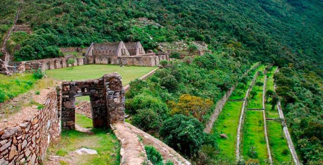 CHOQUEQUIRAO, l'autre Machu Picchu Choque11