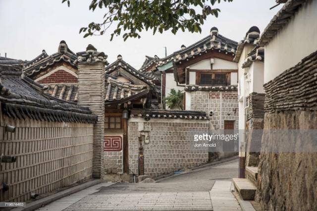 BUKCHON VILLAGE (Séoul) Gettyi10