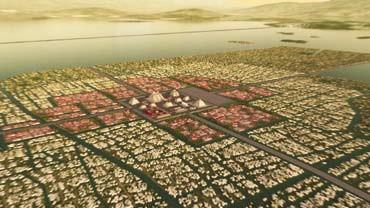TENOCHTITLAN, LA CITE SORTIE DES EAUX... Mexico10