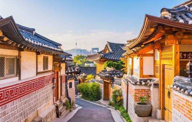 BUKCHON VILLAGE (Séoul) Sunris10