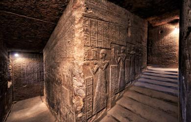 LE SANCTUAIRE D'HATHOR (Egypte) Temple10