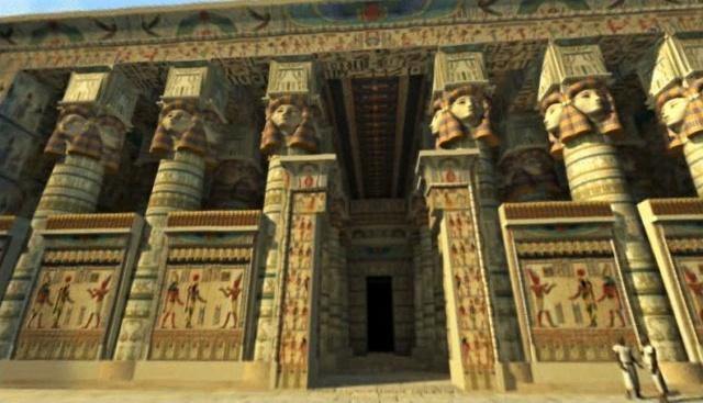 LE SANCTUAIRE D'HATHOR (Egypte) Temple11