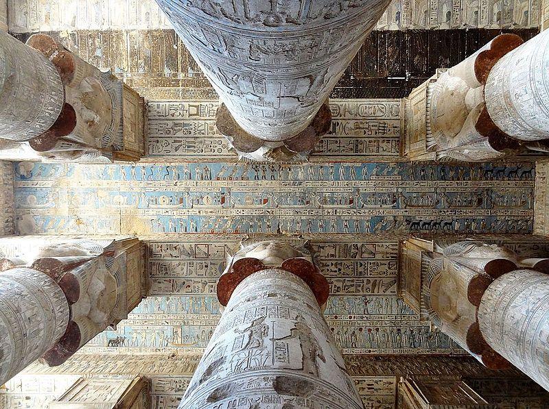 LE SANCTUAIRE D'HATHOR (Egypte) Temple13