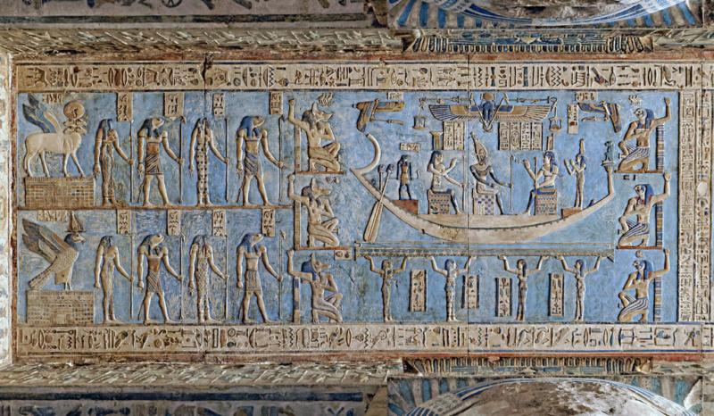 LE SANCTUAIRE D'HATHOR (Egypte) Temple17