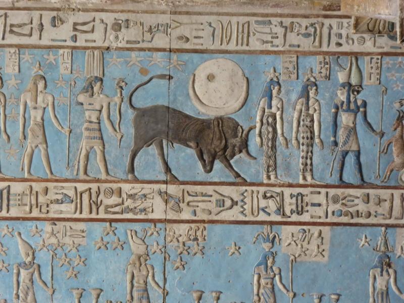 LE SANCTUAIRE D'HATHOR (Egypte) Temple18