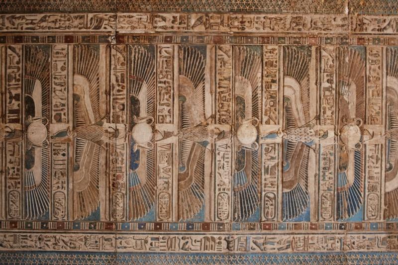 LE SANCTUAIRE D'HATHOR (Egypte) Temple19