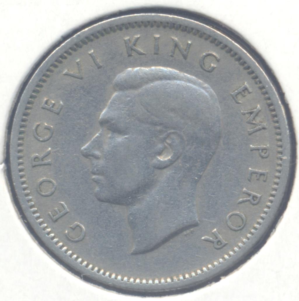 ¡¡Animales!! 6 pence 1947 Nueva Zelanda 6pence11