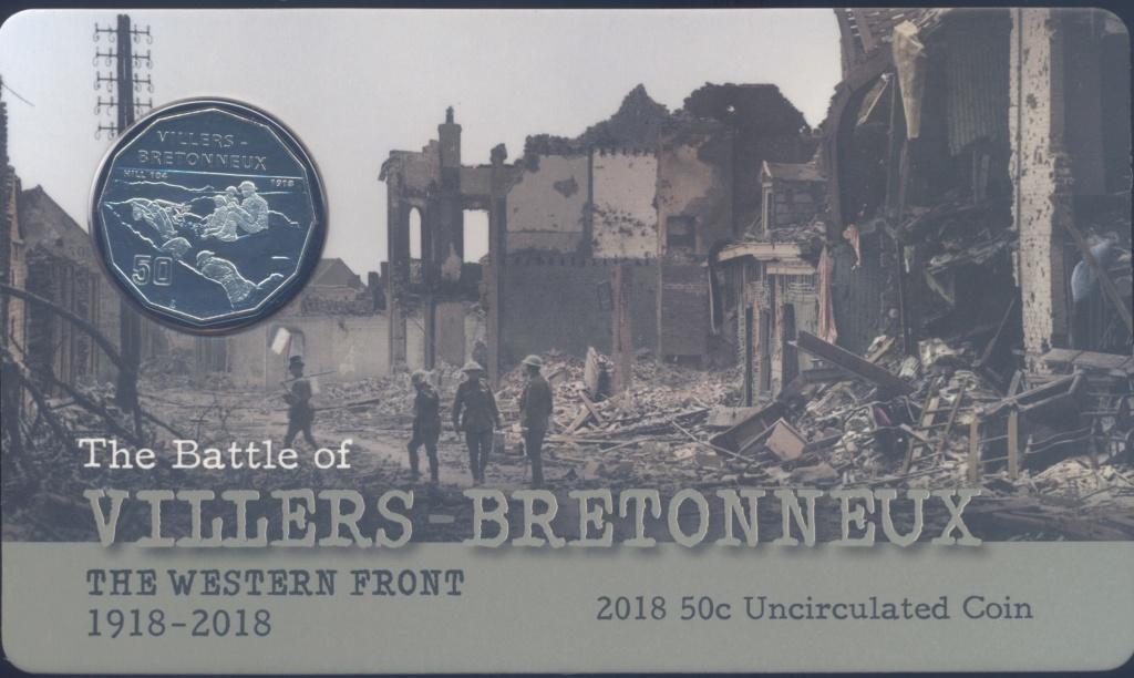 Segunda batalla de Villers-Bretonneux. Tropas australianas. Breton10