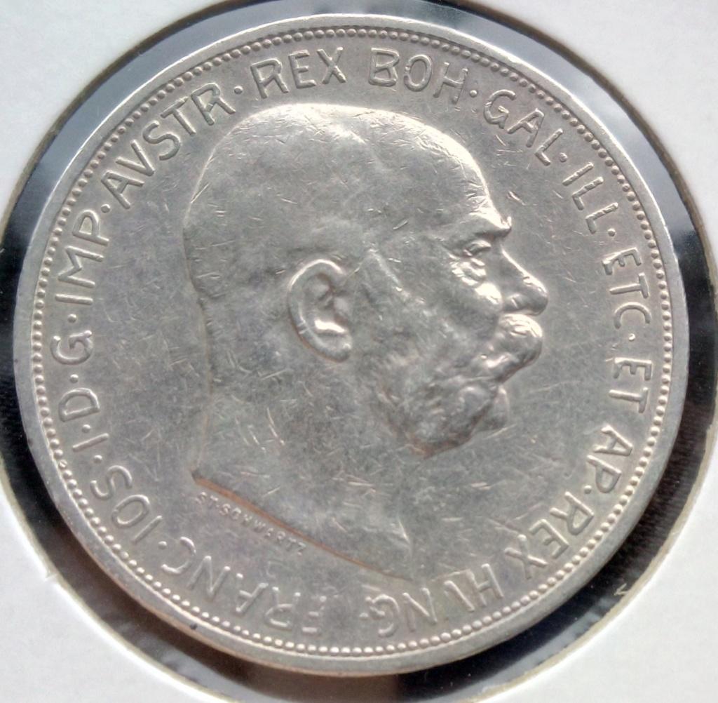 5 coronas Francisco José I. Imperio Austrohúngaro (Hungría). 1908. Img_2018