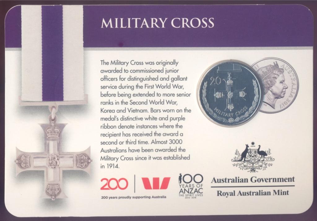 ANZAC - MEDALS OF HONOUR (AUSTRALIA 2017) Milita10
