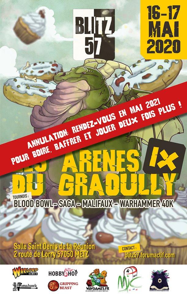 16 et 17 mai 2020 - Les Arènes du Graoully IX - Metz - La Grosse Mêlée - Saga - Page 2 Affich13